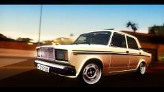 VAZ 2107 sedan for GTA San Andreas