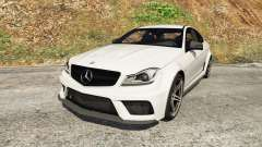 Mercedes-Benz C63 AMG 2012 for GTA 5