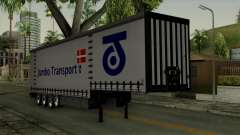 Trailer Krone Profiliner v4 for GTA San Andreas