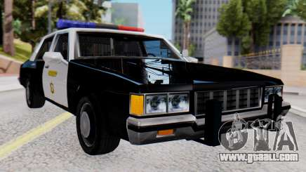Chevrolet Caprice 1980 SA Style LVPD for GTA San Andreas