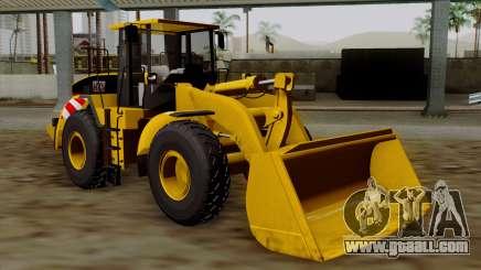 GTA 5 HVY Dozer for GTA San Andreas