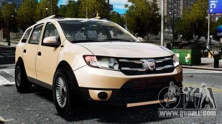 Dacia Logan MCV Stepway 2014 for GTA 4