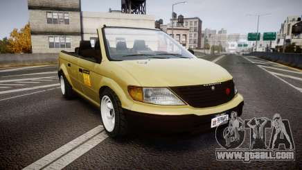 Schyster Cabby LX for GTA 4