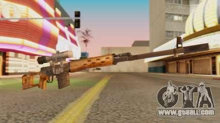 SVD SA Style for GTA San Andreas