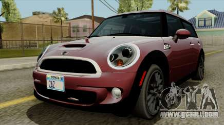 Mini Cooper Batik PaintJob for GTA San Andreas
