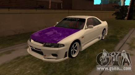 Nissan Skyline R33 Drift Monster Energy JDM for GTA San Andreas