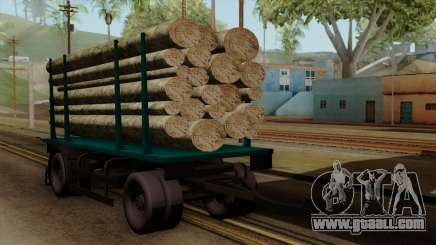 GTA 5 Fieldmaster Wood Trailer for GTA San Andreas