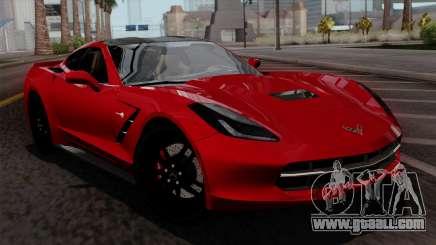 Chevrolet Corvette C7 Stingray 1.0.1 for GTA San Andreas