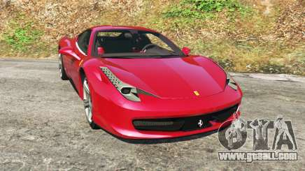 Ferrari 458 Italia v0.9.4 for GTA 5