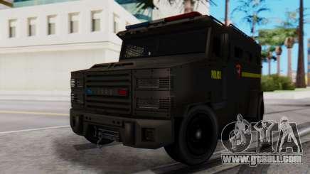 GTA 5 Enforcer Indonesian Police Type 2 for GTA San Andreas