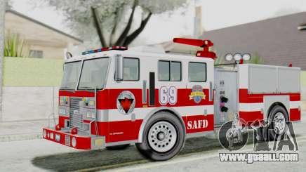 MTL SAFD Firetruck Flat Shadow for GTA San Andreas