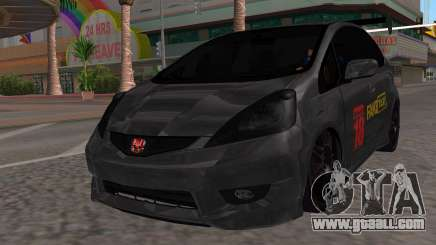 Honda Fit 2009 Faketaxi for GTA San Andreas