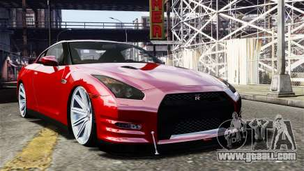 Nissan GT-R AMS 2012 for GTA 4