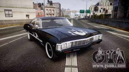 Chevrolet Impala 1967 Custom livery 4 for GTA 4