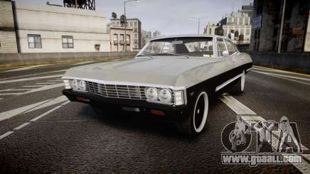 Chevrolet Impala 1967 Custom for GTA 4