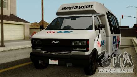 Fly Us Airport Bus for GTA San Andreas