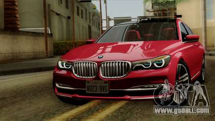 BMW 7 2015 for GTA San Andreas