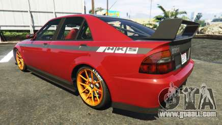 The HKS stickers on Sultan for GTA 5