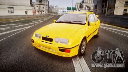 Ford Sierra RS500 Cosworth v2.0 for GTA 4