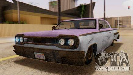 GTA 5 Declasse Voodoo Worn for GTA San Andreas