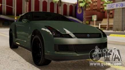 GTA 5 Annis Elegy RH8 SA Style for GTA San Andreas
