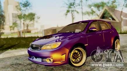 Subaru Impreza WRX STI 2008 for GTA San Andreas