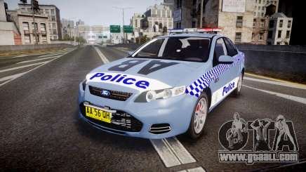 Ford Falcon FG XR6 Turbo NSW Police [ELS] v2.0 for GTA 4
