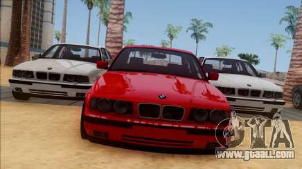 BMW M5 E34 BUFG Edition for GTA San Andreas