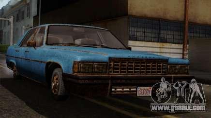 GTA 5 Albany Emperor Worn for GTA San Andreas
