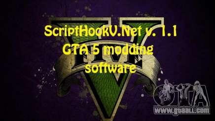 ScriptHookV.NET v.1.1 for GTA 5