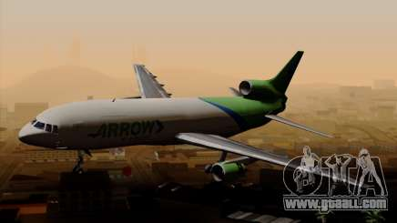 Lockheed L-1011 TriStar Arrow Air Cargo for GTA San Andreas