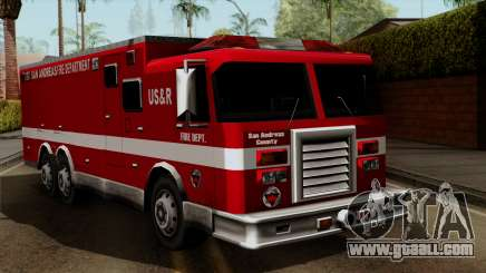 FDSA Urban Search & Rescue Truck for GTA San Andreas