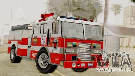 MTL SAFD Firetruck for GTA San Andreas