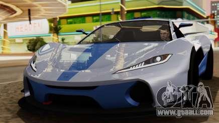 Progen T20 GTR for GTA San Andreas