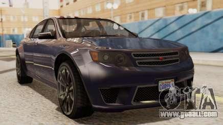GTA 5 Cheval Fugitive IVF for GTA San Andreas