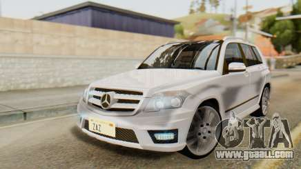 Mercedes-Benz GLK320 2012 for GTA San Andreas