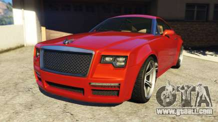 Enus Windsor Rolls Royce Wraith for GTA 5