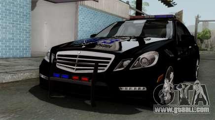 Mercedes-Benz E63 AMG Police Edition for GTA San Andreas