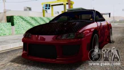 Mitsubishi Eclipse GSX 1999 Mugi Itasha for GTA San Andreas