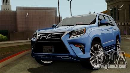 Lexus GX460 2014 v1 for GTA San Andreas