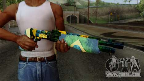 Brasileiro Combat Shotgun v2 for GTA San Andreas third screenshot