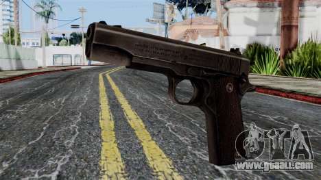 Colt M1911 from Battlefield 1942 for GTA San Andreas