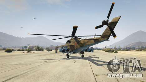 GTA 5 Mi 24 third screenshot
