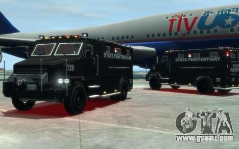 International 4000-Series SWAT Van for GTA 4