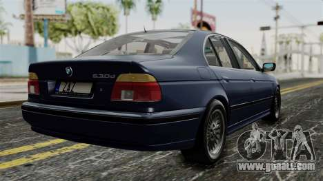 BMW 530D E39 1999 Stock for GTA San Andreas left view