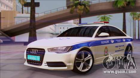 Audi A6 DPS for GTA San Andreas