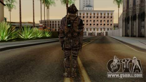 CoD Custom Ghost Retextured for GTA San Andreas third screenshot
