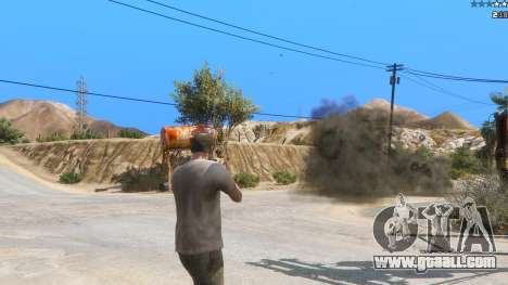 GTA 5 Insane Overpowered Weapons mod 2.0 second screenshot
