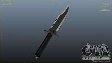 GTA 5 The Rambo Knife eighth screenshot