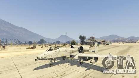 GTA 5 A-10A Thunderbolt II 1.1 third screenshot